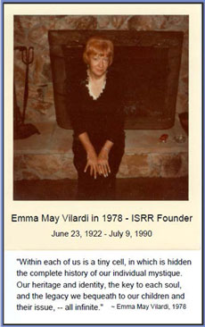 ISRR Founder - Emma May Vilardi